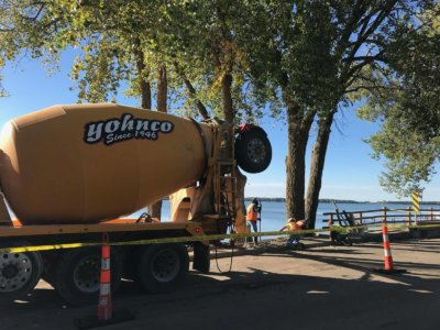 Clear Lake's North Shore Sidewalk Project